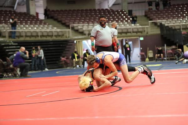 2021 Mancos High School Wrestling Levi Martin