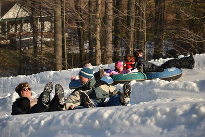 January 7th in the Snow Tubing Park