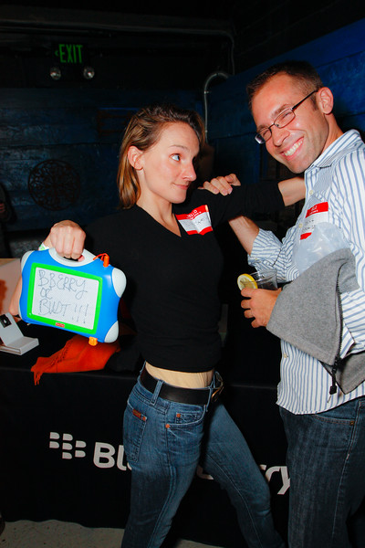Blackberry or Bust with @LizaSperling  atGDGT SF at the DNA Lounge