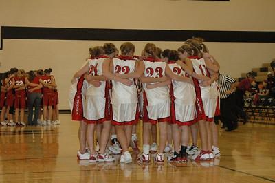 Girls Varsity Basketball  - 2005-2006 - 11/16/2005 Districts vs. Whitehall JG