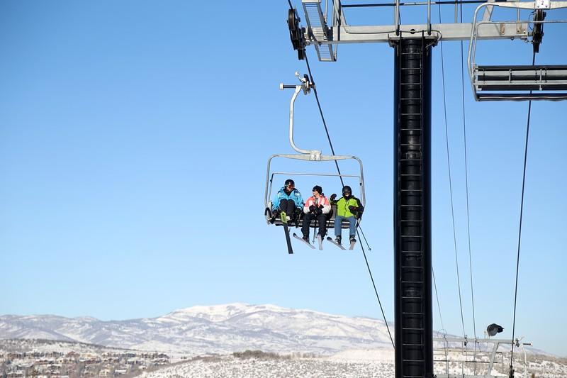 PARK CITY, UT - January 2, 2015:  National Ability Center Alpine Ski & Snowboarding Program (Photo by Claire Wiley)
