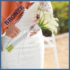 92102 Bridesbouquet Bronze