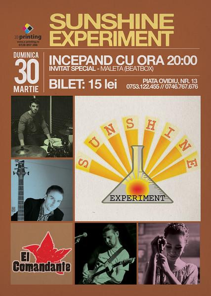 Concert Sunshine Experiment