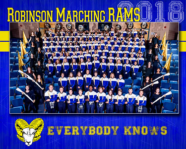 2018 Marching Rams Portraits