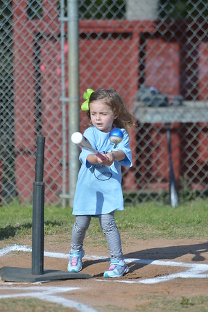 Annie Kate's first T-Ball game 4-30-15