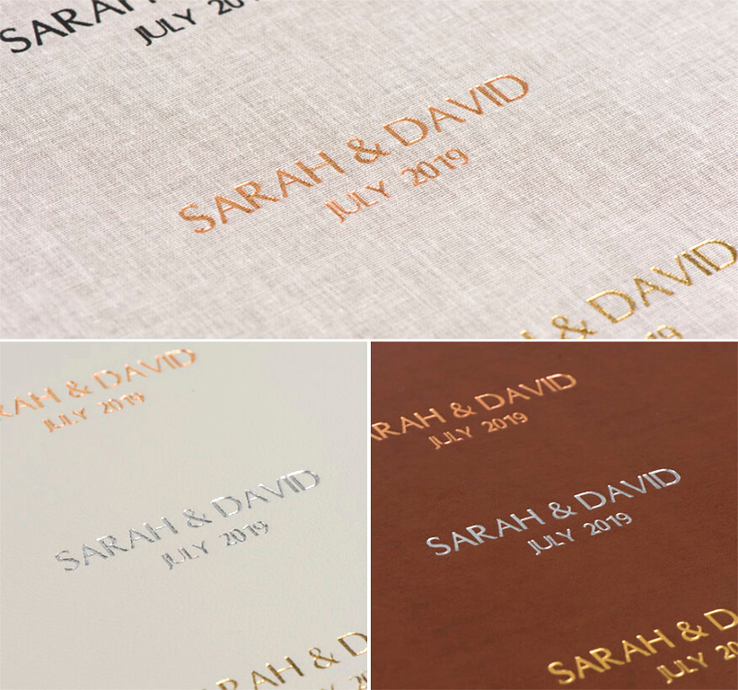 embossing cover