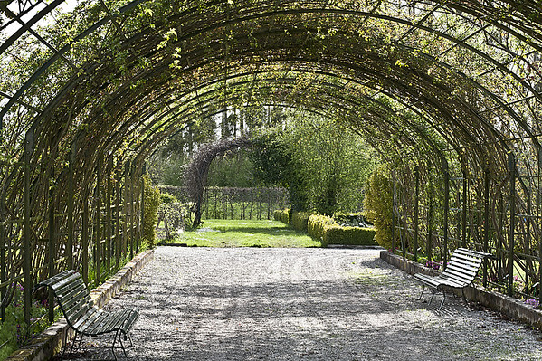 Structures -  Jardin botanique de Marnay sur Seine