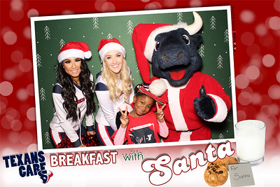 December 21, 2018 - Texans Foundation Breakfast with Santa