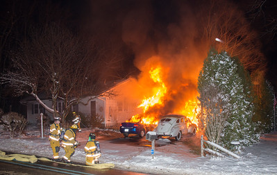 Structure Fire - 194 West Rd, Watertown ,CT - 12/10/17