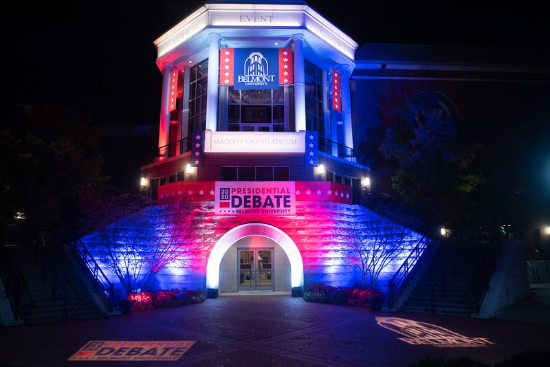 Night shots for Debate 2020