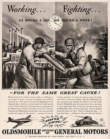 Excerpts from WWI and WWII magazines