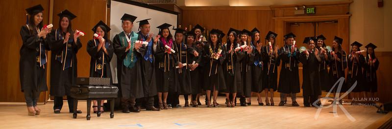 SHRM Graduation Spring 2014