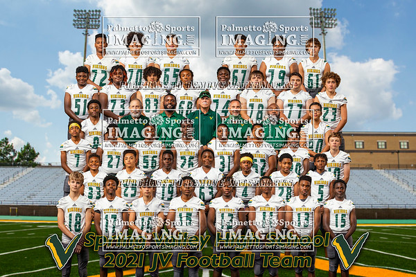 Spring Valley 2021 JV Football Team and Individuals