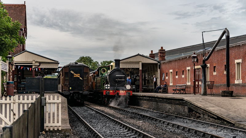 South Eastern & Chatham Railway No.263 prepares for departure
