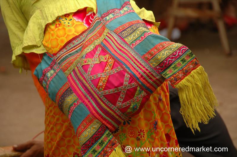 Colorful Ethnic Minority Bag - Xishuangbanna, China