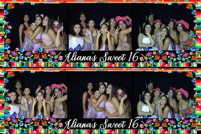 Aliana's Sweet 16