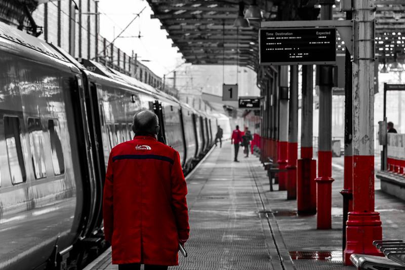 Virgin Trains Staff - Crewe
