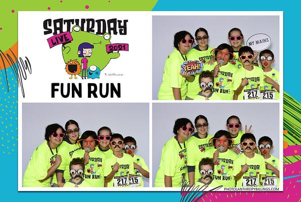 Saturday Live Fun Run