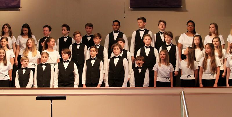 2016-03-01 Saint Andrews Choir - 7th-8th grade