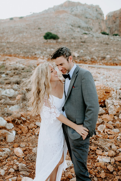 Sarah & Hunter Elopement in Crete