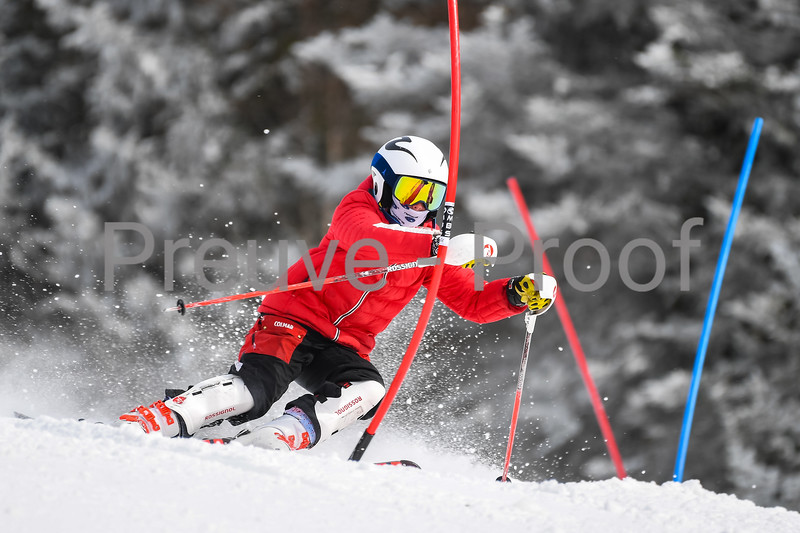 2021-03-13 Club De Ski U14 SL Erik Guay