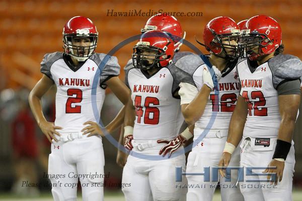 Kahuku Football - STL 8-17-13