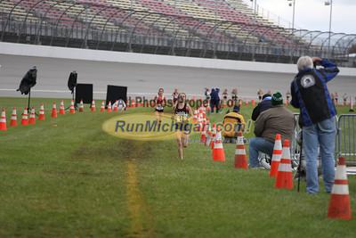 D1 Girls Post Race Gallery 2 - 2013 MHSAA LP XC Finals