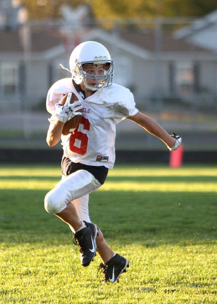 SNMS Football vs North White 2014