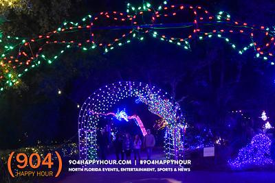 Zoo Lights @ Jacksonville Zoo - 12.22.17