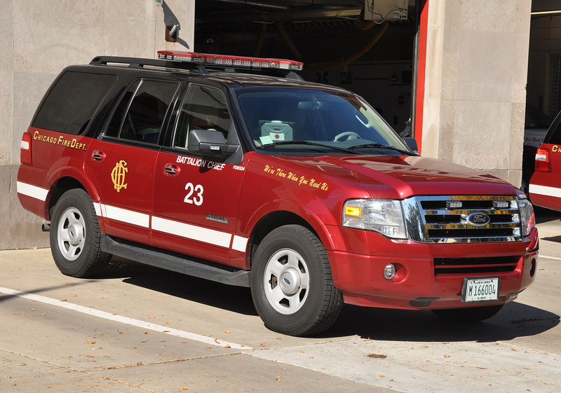 CFD Battalion 23 B-524 2007 Ford Expedition