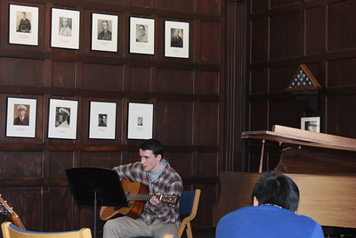 2-27-15 Informal Student Recital in Hinkle Room