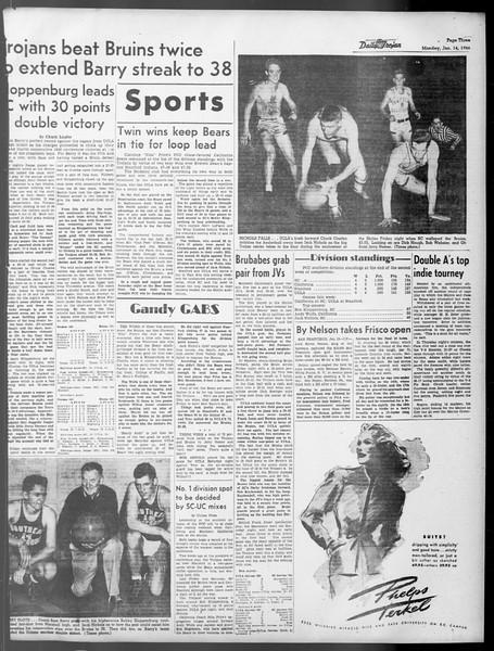 Daily Trojan, Vol. 37, No. 48, January 14, 1946