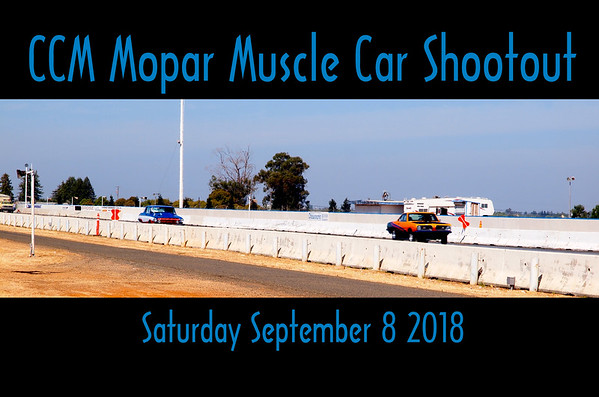 Muscle Car Shootout 9.8.18