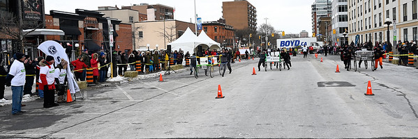 2020-02-15 Accora Village Bed Race for Kiwanis