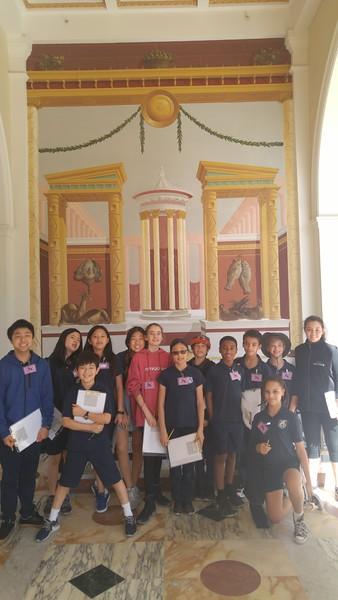 20160226 6th Grade Field Trip to the Getty Villa