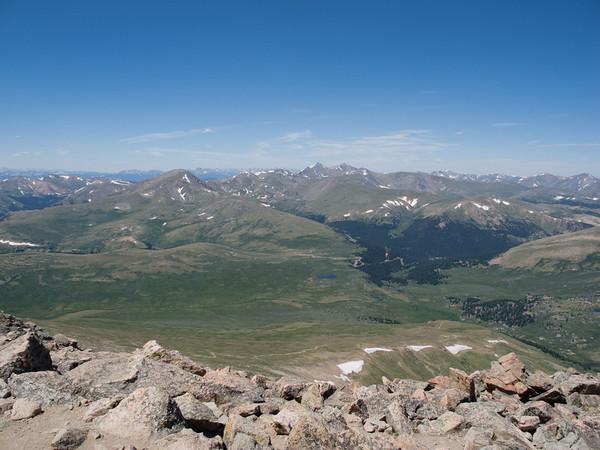 Hiking Mt. Bierstadt 2011