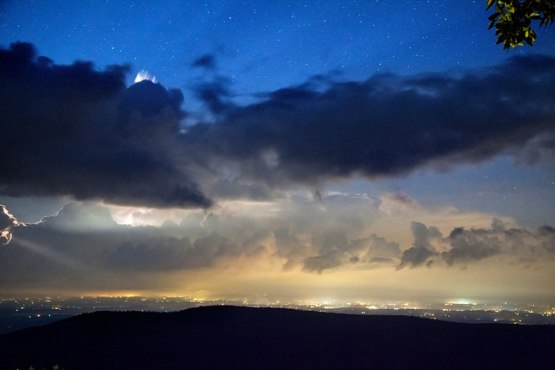 Linville Gorge Lightning