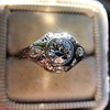 .80ct Vintage Old European Cut Diamond Dome Ring 5