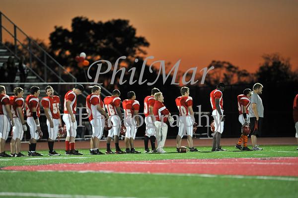Holy Name VS Fleetwood High School Football 2009 - 2010