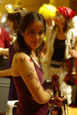 Halloween Orchestra Concert 2005