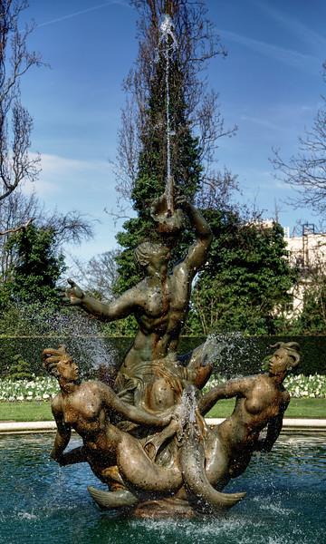 Triton Fountain - Regent's Park - London