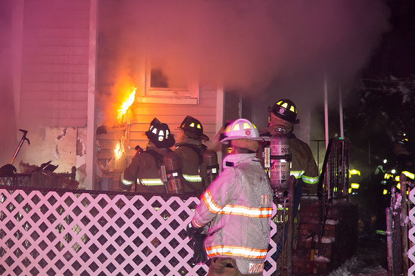 Passaic NJ 3rd alarm, 58 Bond St, 01-07-17