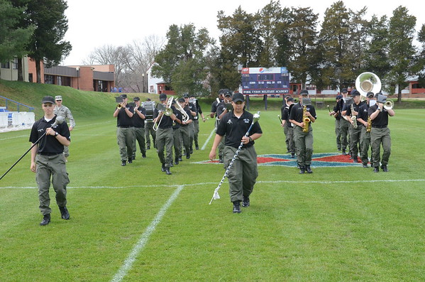 Corps Drills for Upcoming Parades