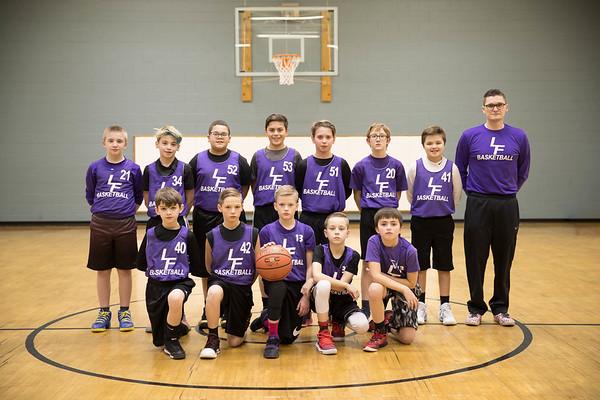 LF 6th Grade Boys Basketball