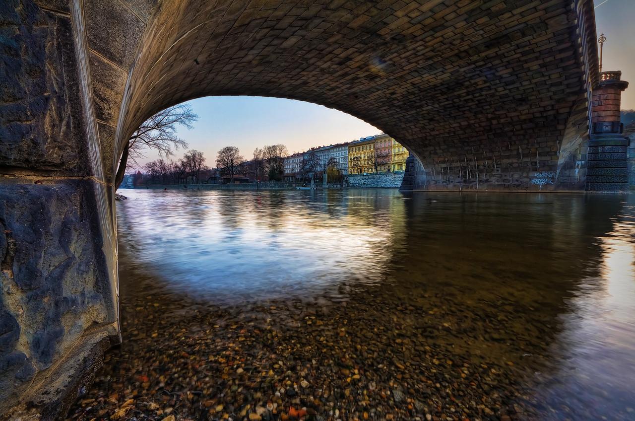 Under the Legie Bridge