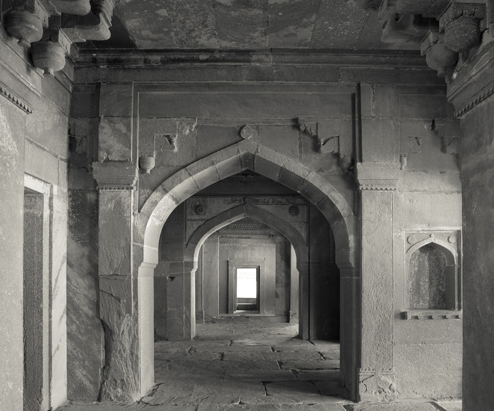 Akbar's quarters. He spent very little time in Fatehpur though.