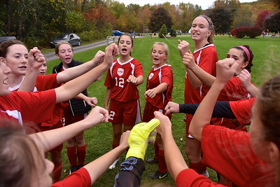 LTS Girls Varsity Soccer vs Poultney photos by Gary Baker