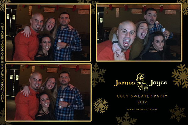 James Joyce Ugly Sweater Party