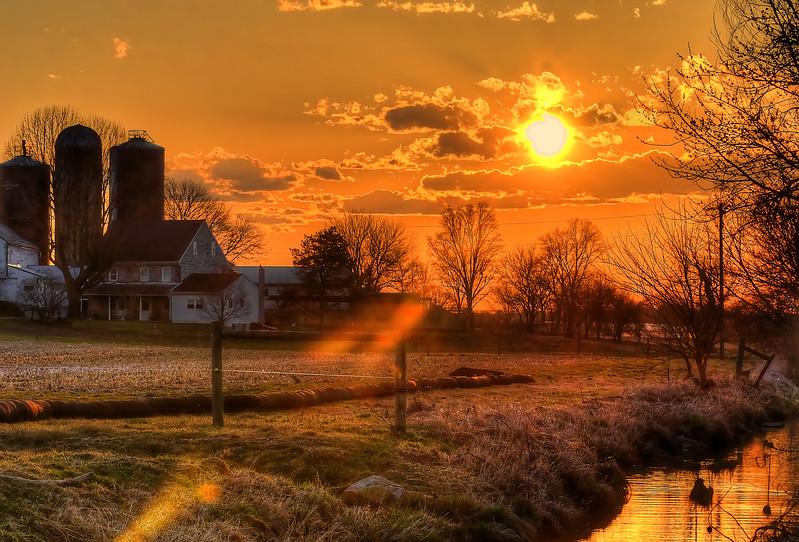 sunset - along farmersvile road(p).jpg
