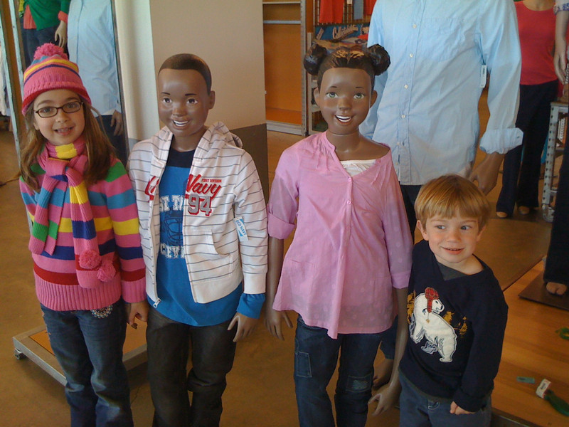 The Mannequin Kids.